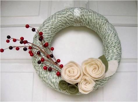 flores-de-feltro-boia-de-isopor-enrolada-com-la