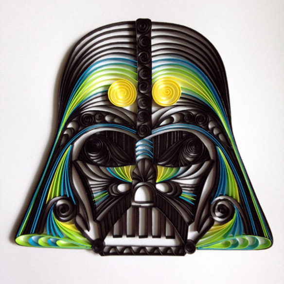 quilled-paper-star-wars-sculptures